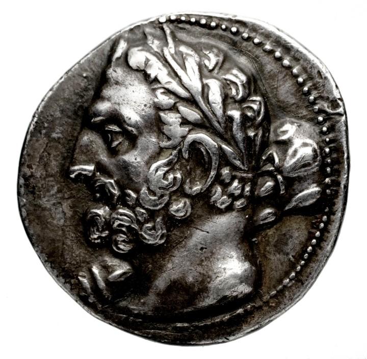 Moneta con ritratto di Amilcare, Bibliotheque Nationale de France_1