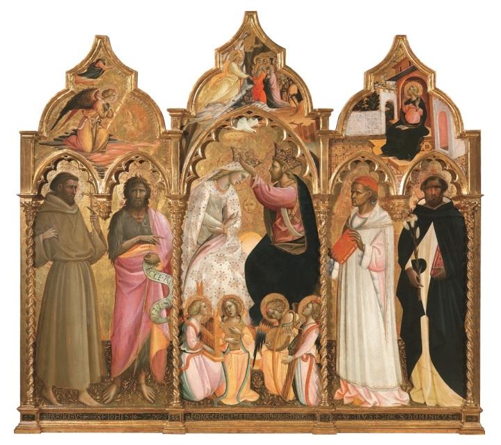 Incoronazione della Vergine fra quattro santi