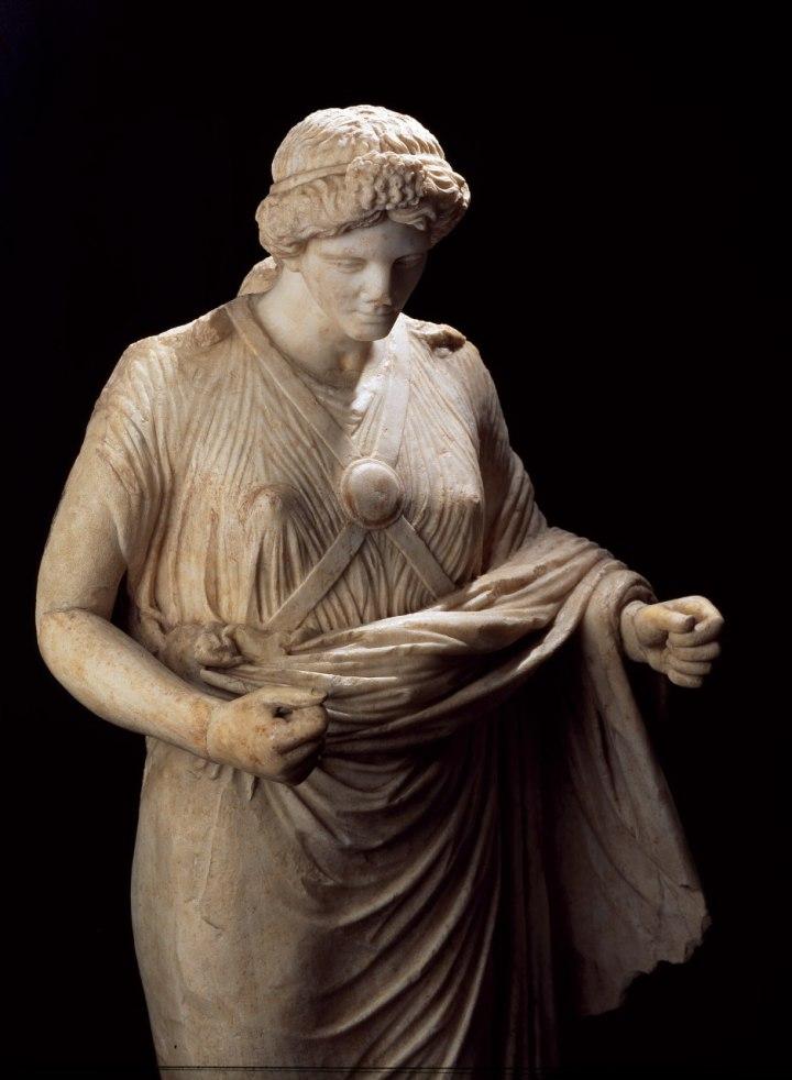 Vittoria Nike Torre Annunziata Villa di Poppea marmo cm 175x64 Pompei Parco Archeologico