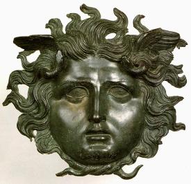 Medusa (produzione di epoca romana). Museo Nazionale Atestino