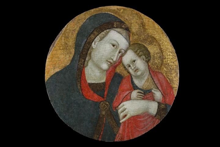 13_Guiduccio Palmerucci' (tondo ricavato da polittico), Gubbio, Museo Civico