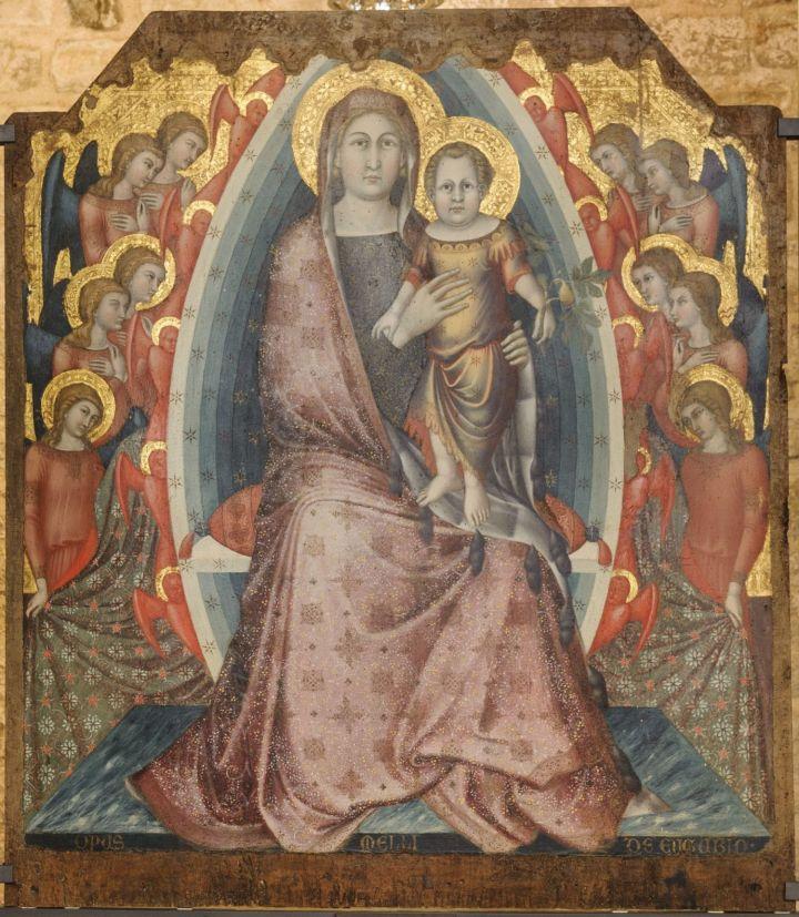 11. Mello, Pala di Agnano, Gubbio, Museo Diocesano