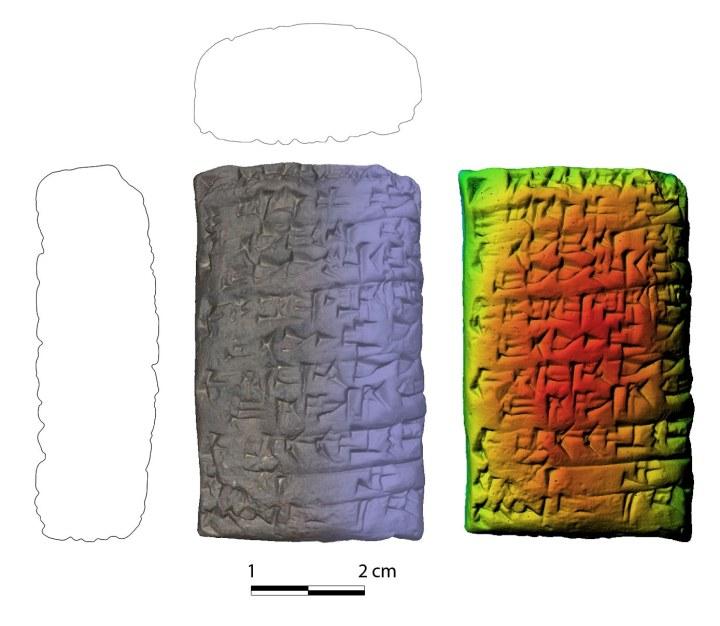 Elaborazioni della tavoletta M19.02 da rilievo fotogrammetico 3D