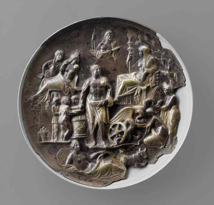 6 Patera d'Argento allegoria fertilità